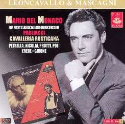 Mario del Monaco - First London Records of Pagliacci & Cavalleria Rusticana album mp3