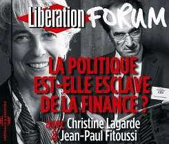 Jean-Paul / Christine Lagarde/Jean Paul Fitoussi / Christine Lagarde - Politique Est: Elle Esclave de La Finance? Forum Liberation de Grenoble album mp3