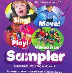 Margie La Bella - Sampler! (Move, Sing, Play Along And Learn!) album mp3
