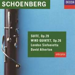 David Atherton / London Sinfonietta - Schoenberg: Suite, Op. 29; Wind Quintet, Op. 26 album mp3