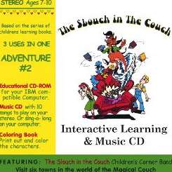 Slouch in the Couch Childrens Corner Band - Interactive Learning & Music CD: Adventure #2 album mp3
