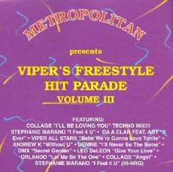 Various Artists - Viper's Freestyle Hit Parade, Vol. 3 album mp3