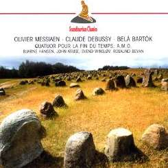 Various Artists - Messiaen: Quatuor pour la Fin du Temps; Debussy: Sonata No. 1 for Cello and Piano; Bartók: Contrasts album mp3