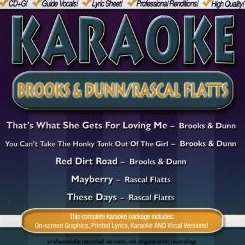 Karaoke - Brooks & Dunn/Rascal Flatts album mp3