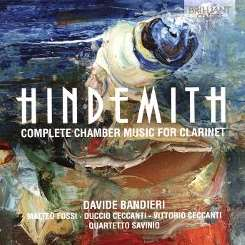 Davide Bandieri - Hindemith: Complete Chamber Music for Clarinet album mp3
