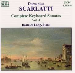 Beatrice Long - Scarlatti: Complete Keybord Sonatas, Vol. 4 album mp3