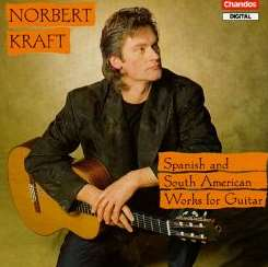 Norbert Kraft - Spanish And South American Guitar Works album mp3