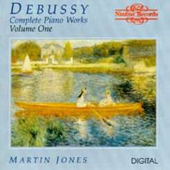 Martin Jones - Debussy: Complete Piano Works, Vol. 1 album mp3