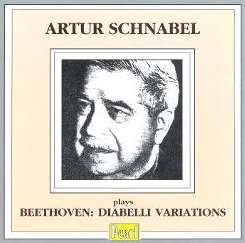 Artur Schnabel - Beethoven: Diabelli Variations album mp3